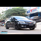 Honda Civic FB with WedsSport SA15R