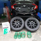 Honda Civic Turbo FC with WedsSport TC105N & TEIN Springs