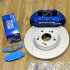 Honda Jazz GE8 with Spoon Big Brake Kit