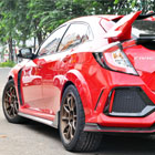 Honda Civic Turbo Type R FK8 with Volkracing ZE40 Bronze